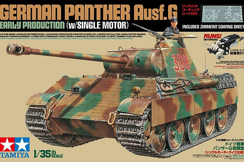 Tamiya - German Panther Ausf.G Early w/Single Motor and Zimmerit Coating 1/35