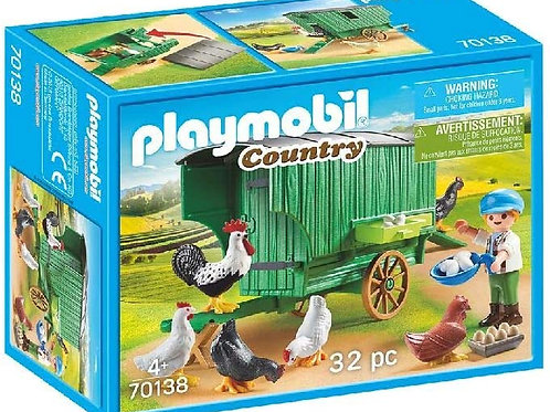 Playmobil 70138 Country - Mobile Chicken House