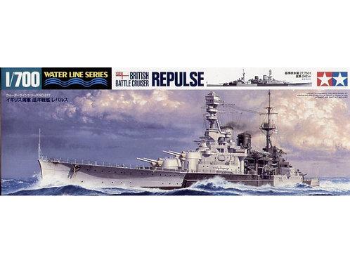 Tamiya - British Battlecruiser HMS Repulse 1/700