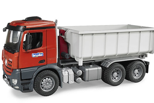 Bruder 03622 - MB Arocs Truck w. Roll-Off-Container 1/16