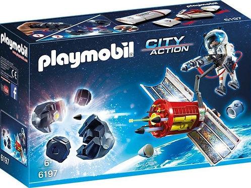 Playmobil 6197 - Satellite Meteoriod Lazer with Astronaut