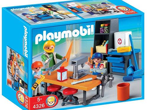 Playmobil 4326 - Woodshop Class
