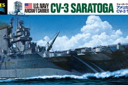 Tamiya - U.S. Navy Aircraft Carrier Saratoga 1/700
