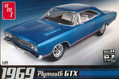 AMT - 1969 Plymouth GTX 1/25
