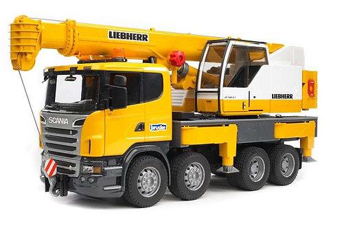 Bruder 03570 - Scania Liebherr Crane Truck 1/16
