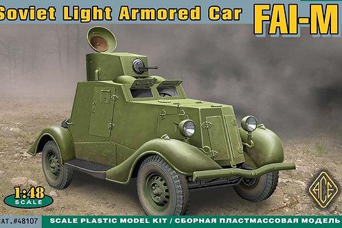 Ace - FAI-M Soviet Light Armoured Car 1/48