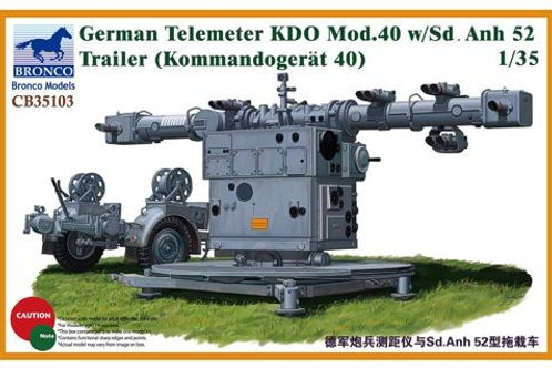 Bronco - German Telemeter KDO Mod.40 w/Sd.Anh.52