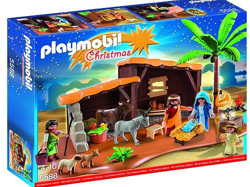 Playmobil - Christmas Nativity Stable with Manger