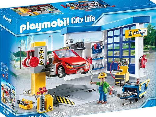 Playmobil 70202 City Life - Service Station