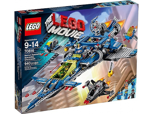 Lego 70816 The Lego Movie - Benny's Spaceship