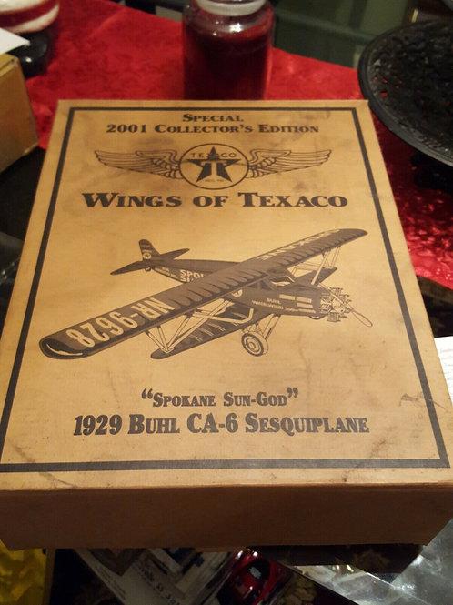 ERTL Collectibles - Wings of Texaco 1929 Buhl CA-6 Sesquiplane