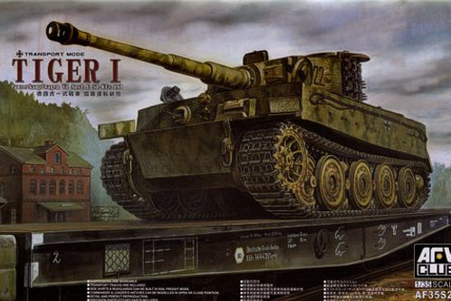 AFV Club - Tiger I Ausf. E Transport Mode 1/35