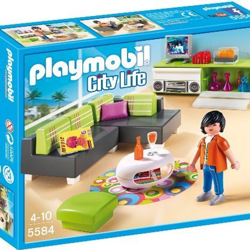 Playmobil 5584 City Life - Modern Living Room Set