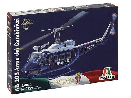 Italeri - AB 205 Arma dei Carabinieri 1/48