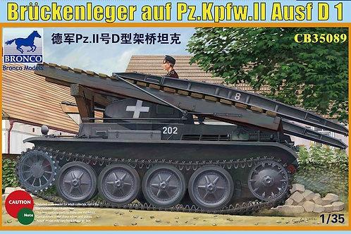 Bronco - Brückenleger auf Pz.Kpfw.II Ausf. D1 1/35