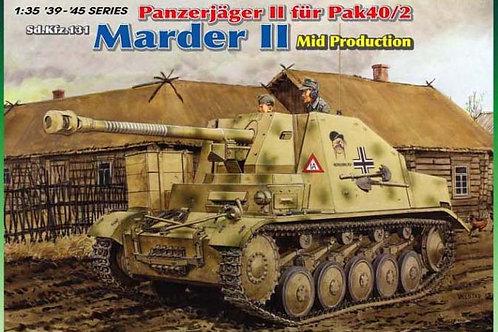 Dragon - Panzerjäger II für Pak40/2 Sd.Kfz.131