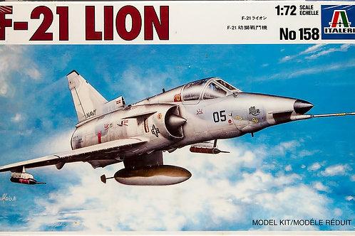 Italeri - U.S. Navy F-21 Lion 1/72