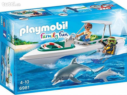 Playmobil 6981 Family Fun - Diving Trip with Speedboat