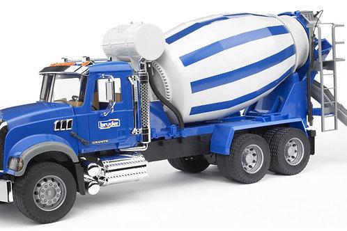 Bruder 02814 - Mack Cement Mixer Truck 1/16