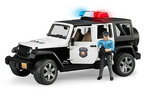 Bruder 02526 - Jeep Wrangler Unlimited Rubicon Police