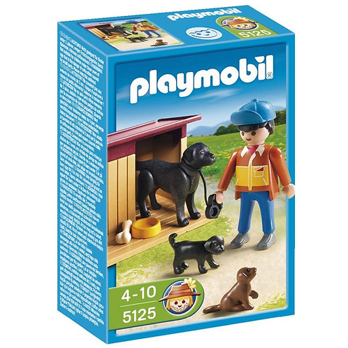Playmobil 5125 Country - Boy with Dog Family