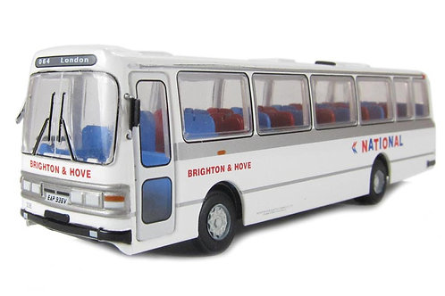 Base Toys - Leyland Leopard/Duple Dominant II coach Brighton & Hove NB 1/76