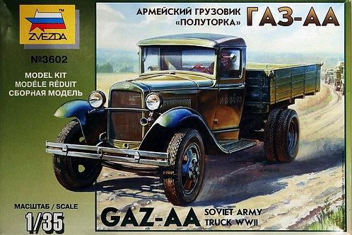 Zvezda - GAZ-AA 1.5 Ton Soviet Army Truck 1/35