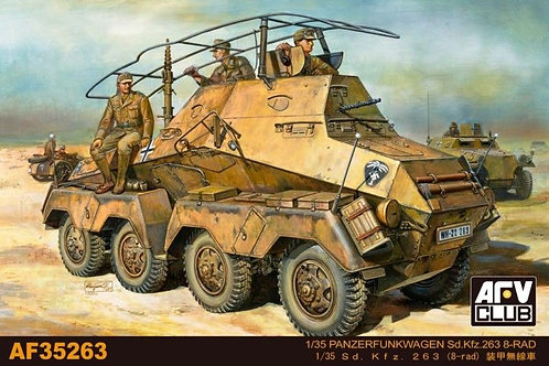 AFV Club - Sd.Kfz.263 8-Rad Panzerfunkwagen 1/35
