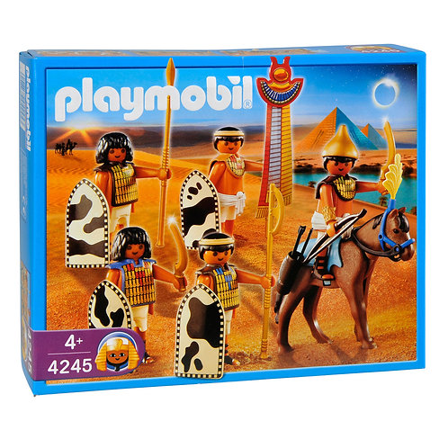 Playmobil 4245 History - Egyptian Soldiers