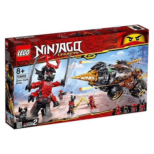 Lego 70669 Ninjago - Cole's Earth Driller