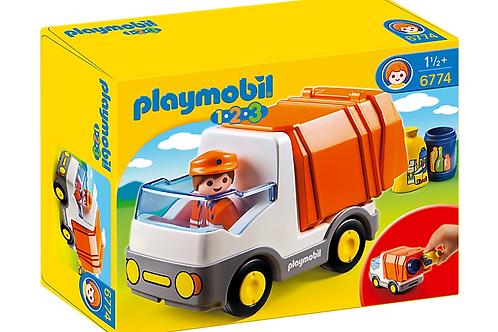 Playmobil 6774 1.2.3 - Recycling Truck