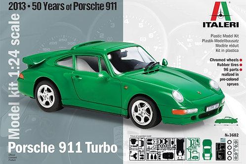 Italeri - Porsche 911 Turbo 1/24