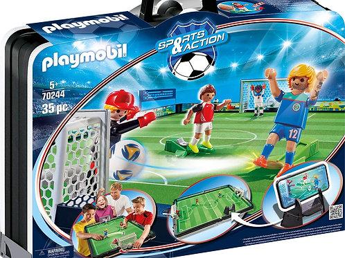 Playmobil 70244 Sports and Action - Fußballarena und Spielfiguren