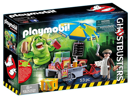 Playmobil 9222 Ghostbusters - Slimer with Hot Dog Stand