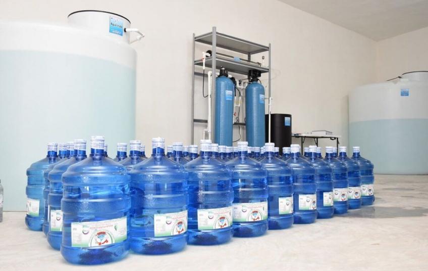 planta de agua