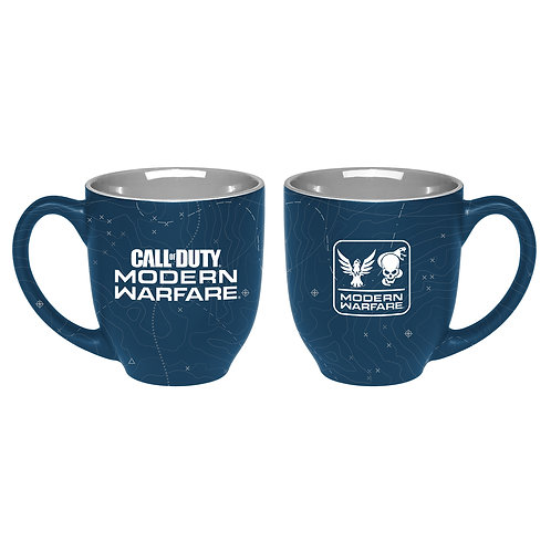 """Official Call of Duty Modern Warfare Two Color Mug """"Maps"""""""