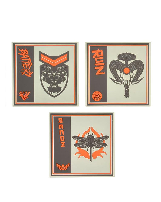 Official Call of Duty Black Ops Silicone Coasters (3 Pack)