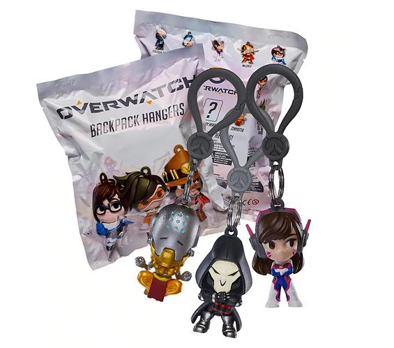 Official Overwatch Backpack Hangers