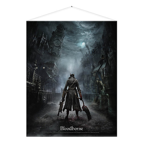 "Official Bloodborne ""Night Street"" Wall Scroll"