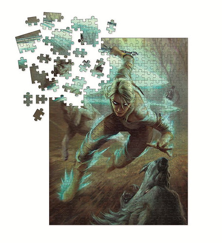 Dark Horse The Witcher 3 Wild Hunt: Ciri & The Wolves Puzzle - 1000 Pieces