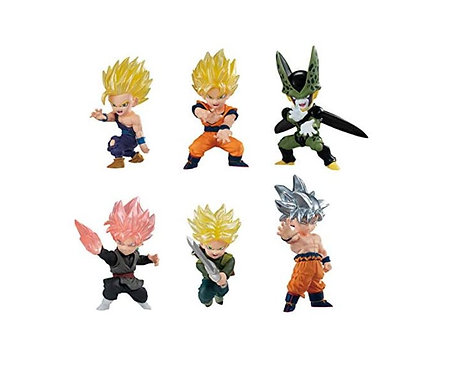 Dragon Ball: Adverge Motion Mini Action Figures - Wave 1 - Case of 6
