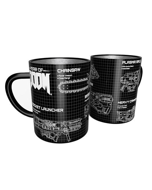 Official Doom Weapons Steel Mug