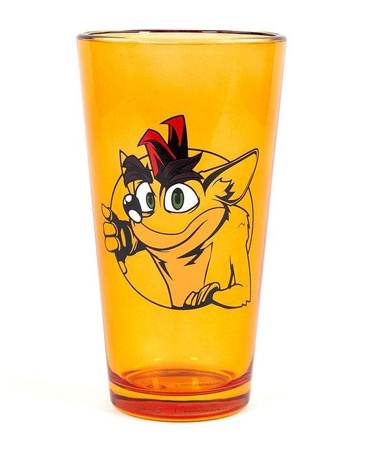 Official Crash Bandicoot Crash Pint Glass