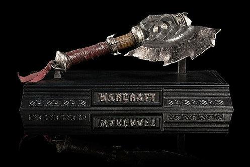 Official WETA Warcraft: Axe of Durotan (1:6 Scale Prop Replica)