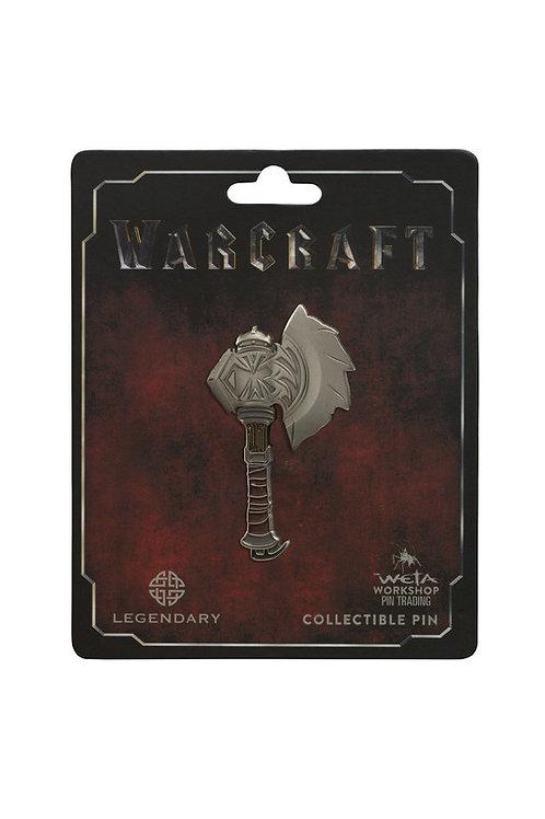 Official WETA Warcraft: Durotan's Axe Collectable Pin