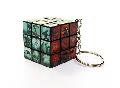 Official Dota 2: Rubick's Cube Keychain