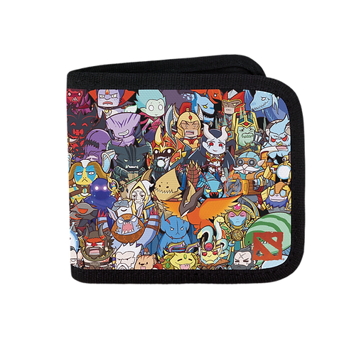 Official Dota 2: Heroes Pick Canvas Wallet
