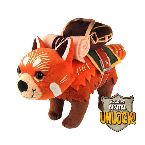 Official DOTA 2: Redpaw Courier Plush