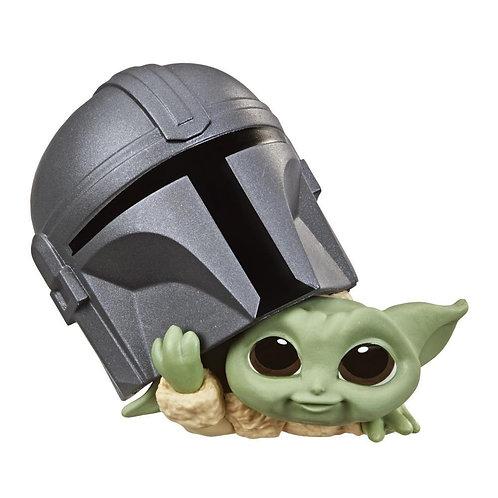 "Hasbro: Star Wars - The Child Figure - 2.25"" Scale Helmet Peeking Pose"