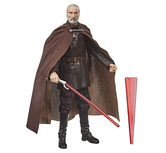 """Hasbro: Star Wars The Black Series 6"""" Scale Action Figure - Count Dooku"""